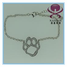 paw shaped pet footprint shaped bracelet