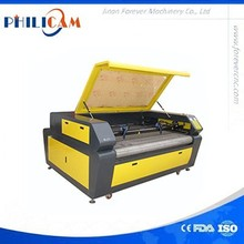 High configuration and low price ! auto feeding two heads laser cutter machine