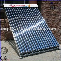 thermosyphon Keymark heat pipe solar collector