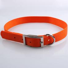 china market wholesale high quanlity nylon leather dog collar