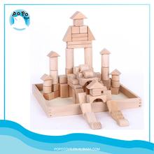 Los niños juguetes de madera builindg bloques Set