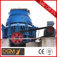 mining product silver cone crushing plant for hot sale