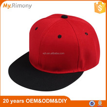 High quality snapback hats bulk hiphop party hat short brim snapback hat and cap