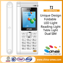 factory 1.77inch with LED Lamp old man mobile phone