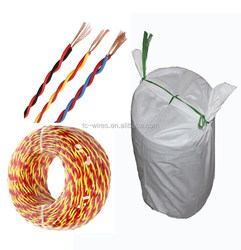 Stranded / Mulit-Core Copper / CCA Conductor PVC Insulation Twisted Electric Wire