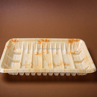 disposable plastic tray frozen food container food packaging