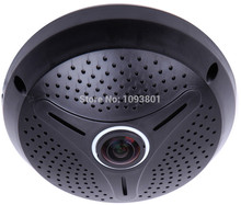 Free Shipping1.3MP 960P 360 degree wide angle IP Camera panoramic fisheye CCTV camera with IR offer free split software