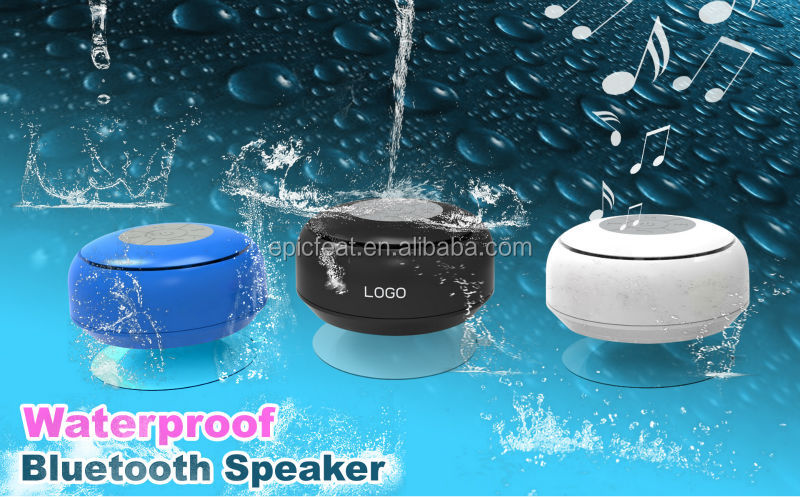 2014 Bluetooth waterproof Speaker,mini bluetooth speaker box,Hands Free Factory Wholesale bluetooth shower speaker