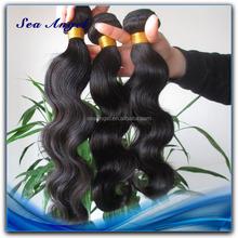 100% Human Hair No Synthetic virgin chinese hair