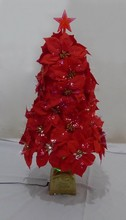 2015 Bright-Colored Artifical Flower with Fiber Optical /Indoor &Outer Decoration/Christmas Decoration