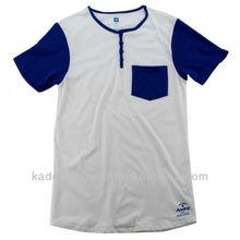 popular scoop neck T shirt with pocket