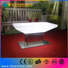 Iluminous high quanlity led coffee furniture/pool table led for bar /event /garden outdoor party