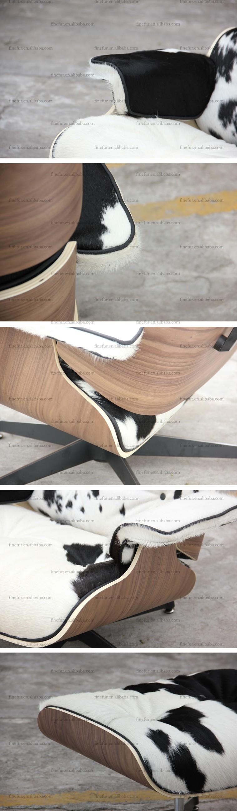 Koe verbergen cover klassieke meubels slaapkamer ontwerp relax ...
