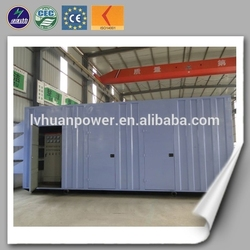 500kw soundproof power generator natural gas containers/ silent natural gas generator 500kw