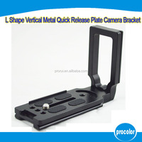 Family photo camera accessories L-Shaped Quick Release Plate for Tripod Ball head