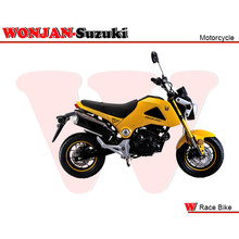 Race Bike (150cc) Wonjan-Suzuki engine, Motorcycle, , Motorbike, Autocycle,Gas or Diesel Motorcycle (WJ150-18 YELLOW)