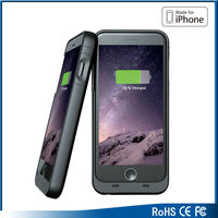 Extended backup MFi battery case for iPhone 6 battery case
