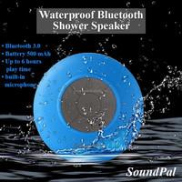 Bathroom car Handsfree receive call&Music HIFI waterproof bluetooth car mini speaker
