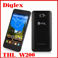 China Wholesale Original THL W200 Quad Core MTK6589T Android 4.2 Mobile Phone 5 inch 1GB RAM 8GB ROM 8MP Dual Sim 3G Cell Phone