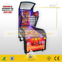 Made in china shooting hoop basketball,street basketball arcade game machine for sale