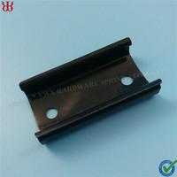Oem Stamping part black flat steel fastener clip pipe fastener