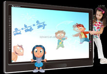 65 70 84 inch touch lcd panels with both android and window system