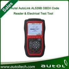 Original Autel AutoLink AL539B OBDII Code Reader & Electrical Test Tool AL539B Automotive Scanner