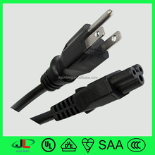 PVC 125v 3 pin plug and hot wire standard power wire color code