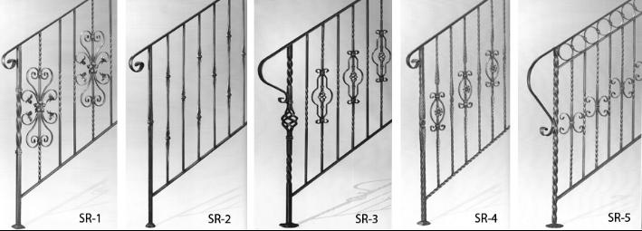 Pasamanos hierro forjado para escaleras diseos de - Escaleras hierro forjado ...