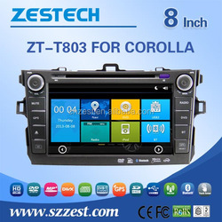 fit for toyota corolla 2004 2005 2006 in dash car dvd player with radio/gps multimedia