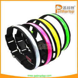 2015 new design pet products pvc safety dog collar TZ-PET1038 dog training