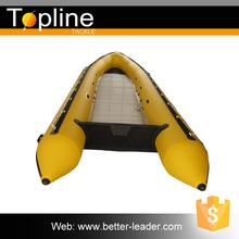 Oem diseño inflable pequeño yate barco del cebo de pesca