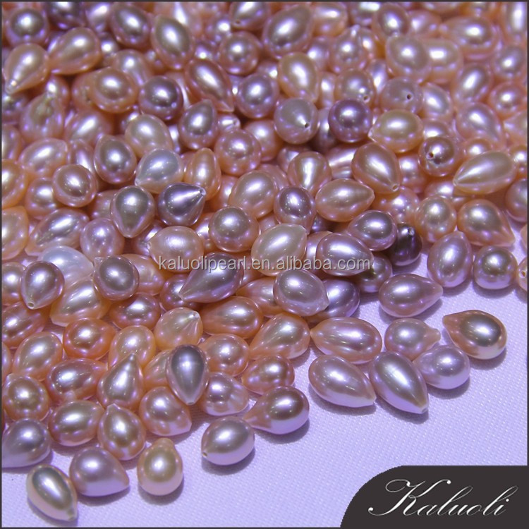 Wholesale 6 7 mm aa natural seed loose pearls beads for for Natural seeds for jewelry making