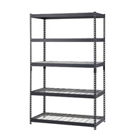 5 Layer Steel Warehouse Rack Storage Shelves Tire Display Rack Stainless Steel Vegetable Racks