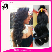 Cheap human hair extensions Brazilian virgin hair weave body wave hair