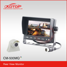 5inch waterproof lcd monitor with Remote Control, Multi-language, 12v-24v, RCA Video Input, OSD Menu, Built in Speaker