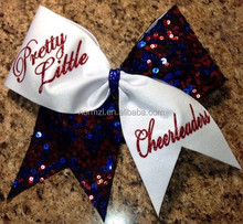 factory director sale bling custom sublimated cheer bow