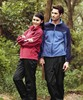 Fashionable in-stock zipper-up windproof jacket for couples