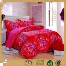 Famous brand king size 3d wedding bedding set