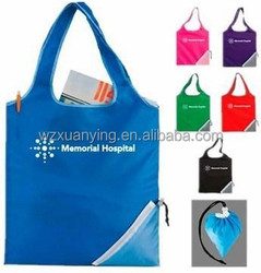 2015 New Product Nylon Foldable shopping Bag