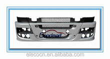 Iveco Truck Body Parts front bumper with black upper central and side extentions 504287143