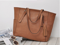 women leather handbags fashion pu leather travel bag