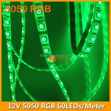 Factory produce DC12V 60leds/m rgb led flexible strip