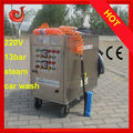 2013 CE GLP sem caldeira de limpeza limpar chão de vapor móvel máquina / vapor equipamento da lavagem de carro