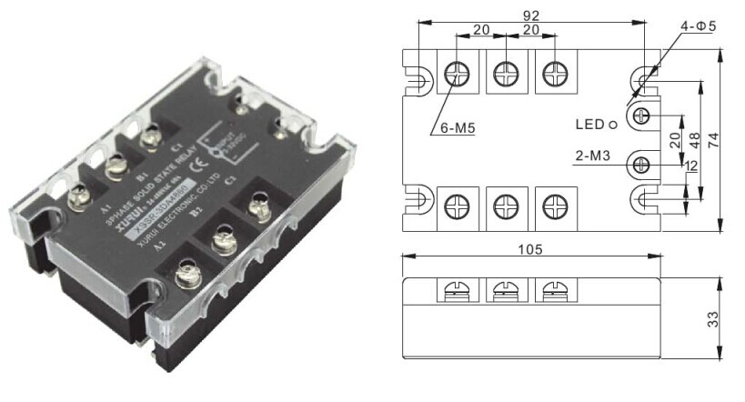low voltage solid state relay    solid state relay ssr 3