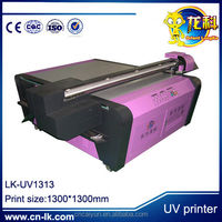 UV Advertise Acrylic printer /UV-1313 (1.3M*1.3M )Multifunctional UV printer