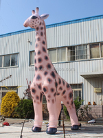 Customized inflatable giraffe/inflatable giraffe customized/giraffe inflatable custom W597
