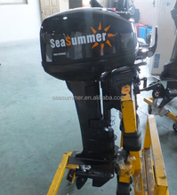 Two stroke gasoline wholesale outboard Marine gas engines for boat 9.9hp boat engine