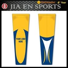 yellow hockey sock custom sublimation blank hockey socks high quality sublimated striped hockey socks