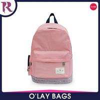 2015 Hot sale solid color school backpack bag wayuu mochila bags